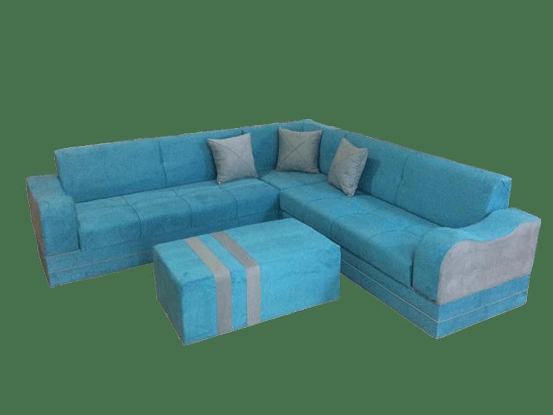Klasik Köşem Koltuk Takımı Aqua